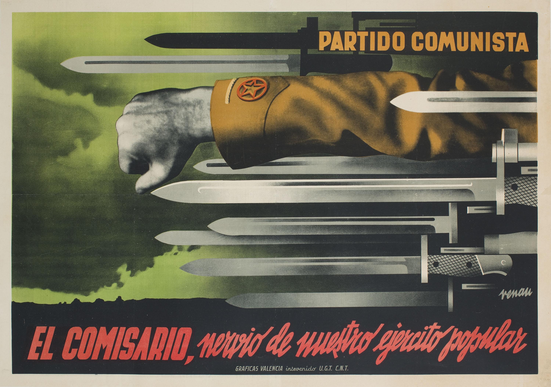 Josep Renau - El comisario, nervio de nuestro ejercito popular - 1937