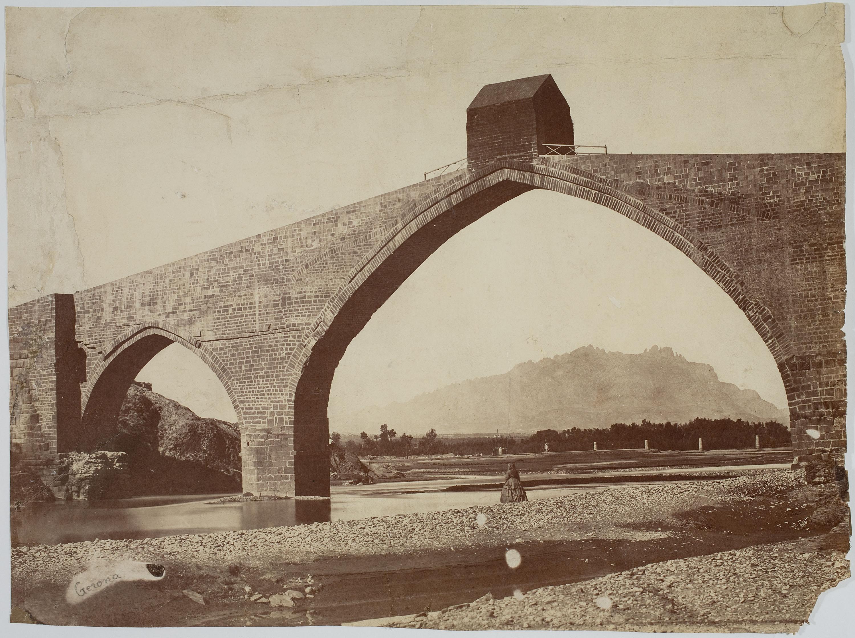 Charles Clifford - Puente del Diablo (Martorell) (Devil's Bridge) - 1860