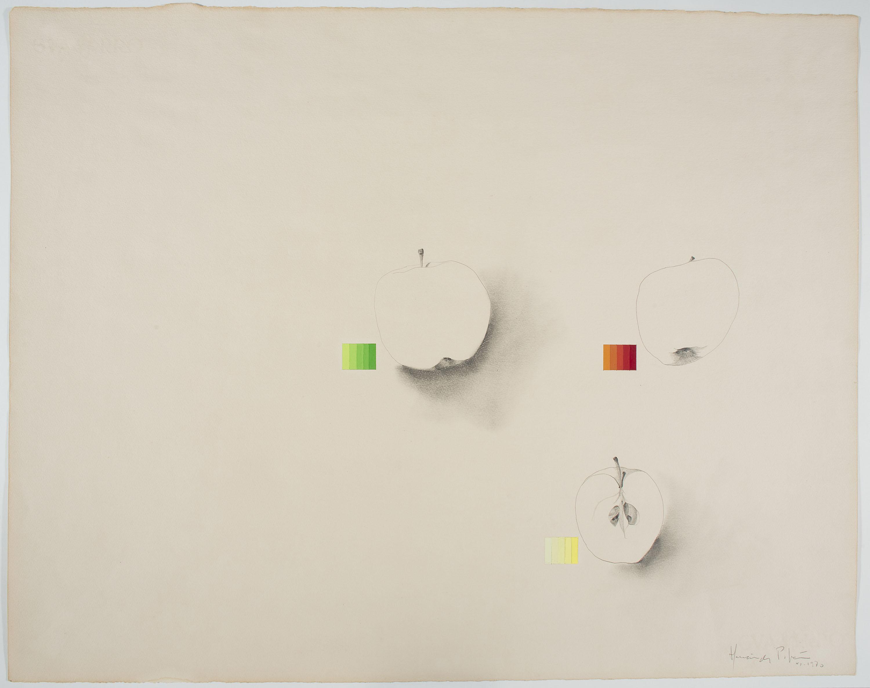 Joan Hernández Pijuan - Pomes (Apples) - 1970