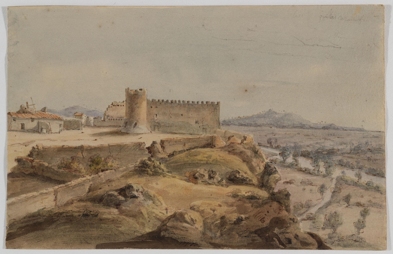 Adolphe Hedwige Alphonse Delamare - Castell de Bàscara - 11 d'agost de 1825