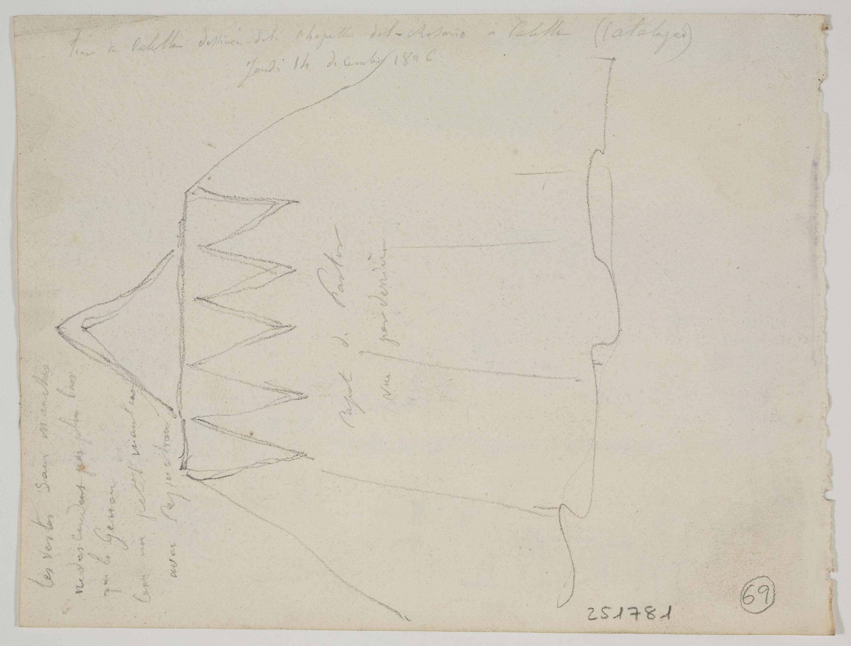 Adolphe Hedwige Alphonse Delamare - Herder's cape - Thursday December 14, 1826