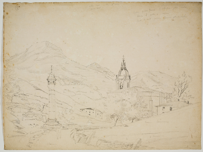 Adolphe Hedwige Alphonse Delamare - Villareal de Urrechua a Guipúzcoa - 29 d'octubre 1824