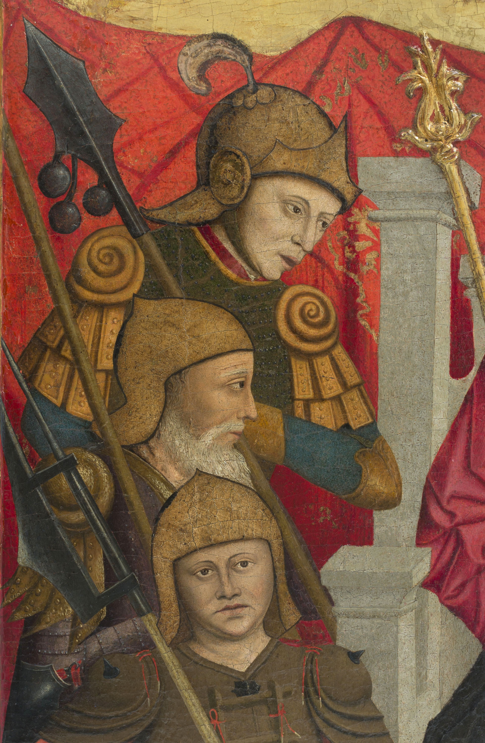 Lluís Dalmau - The Beheading of Saint Baudilus - circa 1448 [4]