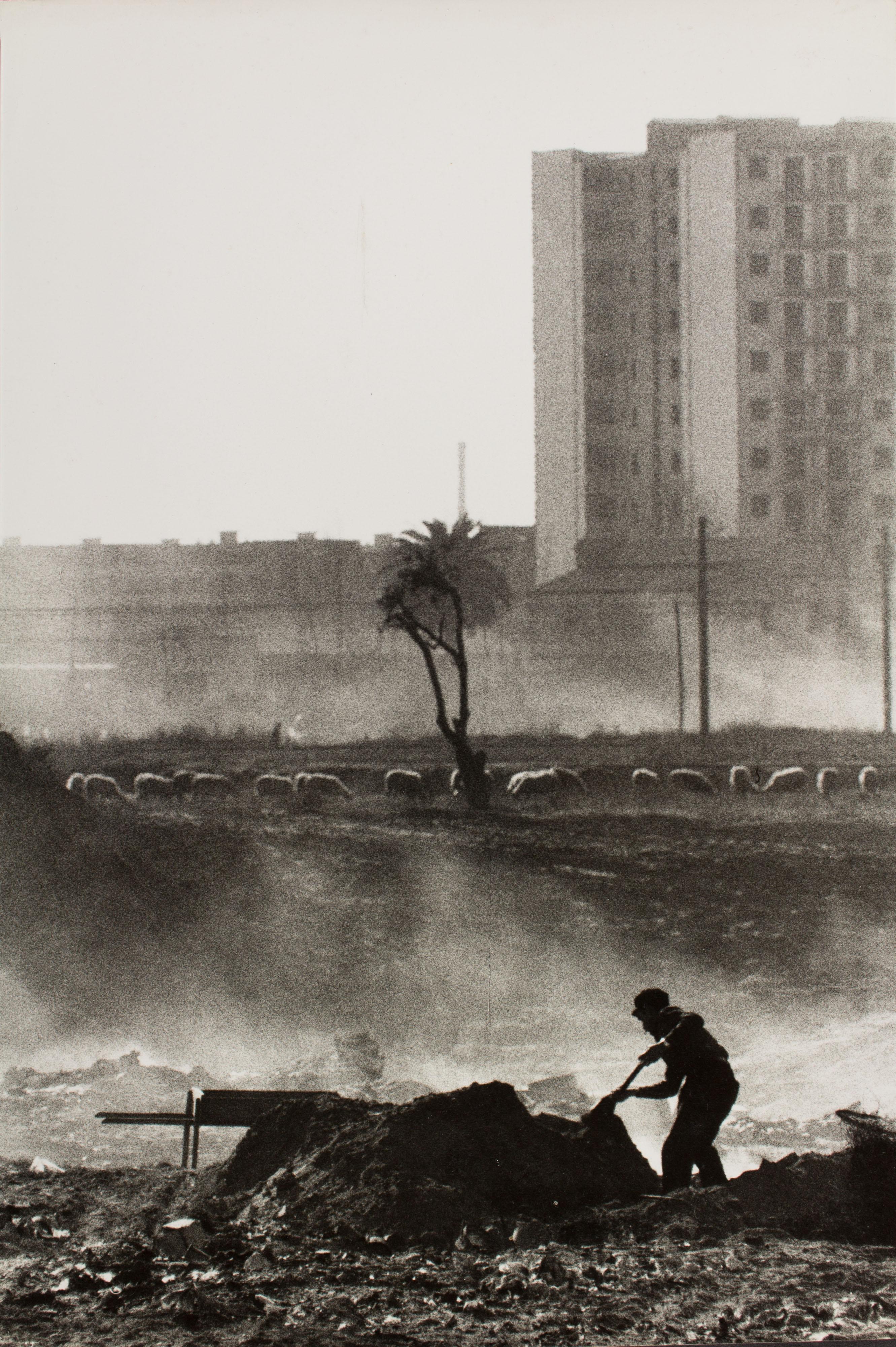 Oriol Maspons - Sense títol (Barcelona. Fotografia per la revista «Cuadernos de arquitectura» del Col·legi d'Arquitectes de Catalunya) - Cap a 1965