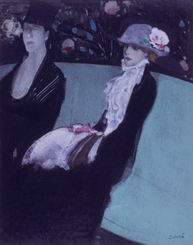 Xavier Gosé, Jardí d'hivern, c. 1914 (Museu d'Art Jaume Morera, LLeida)