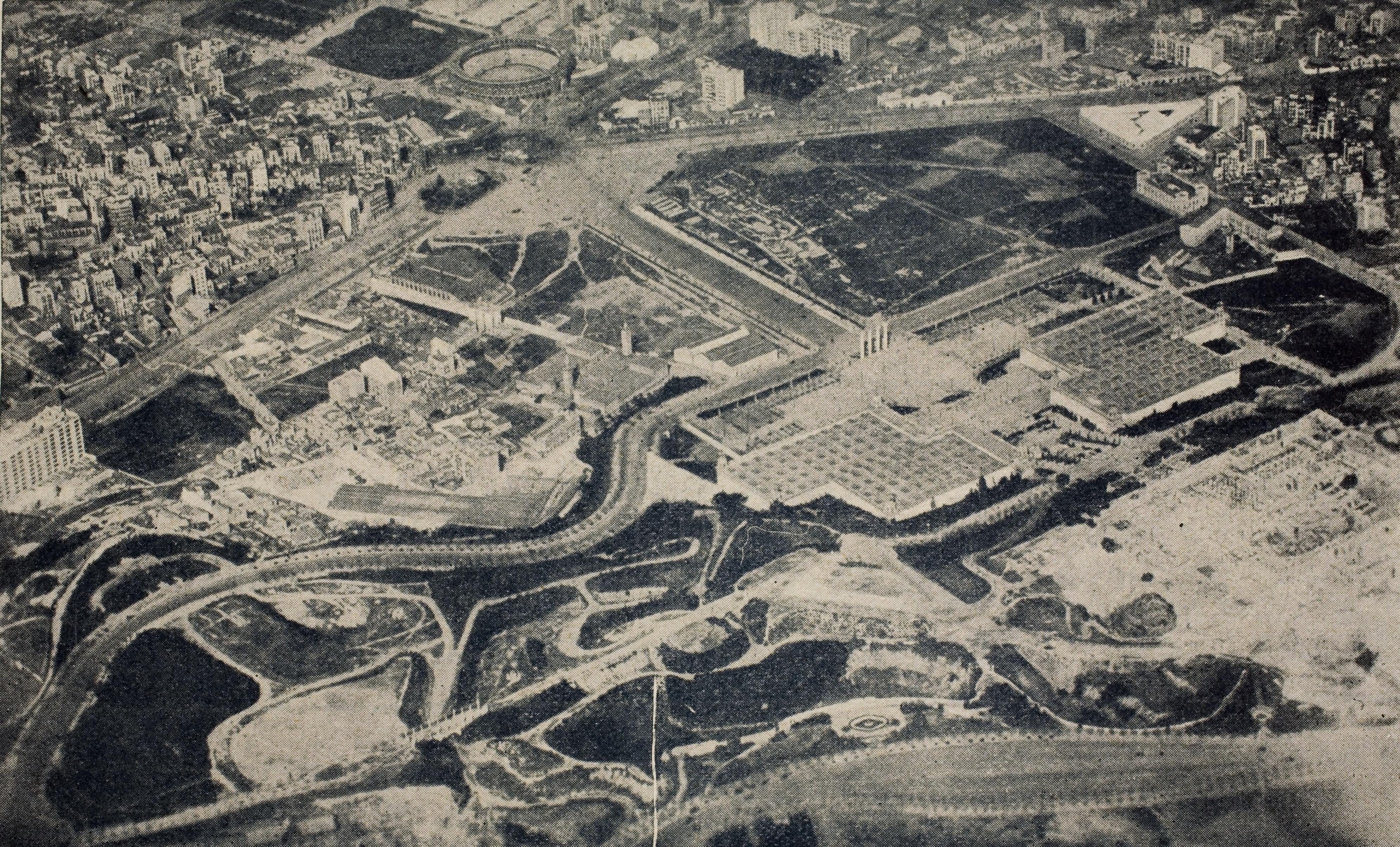 Emplaçament de l'exposició de 1929