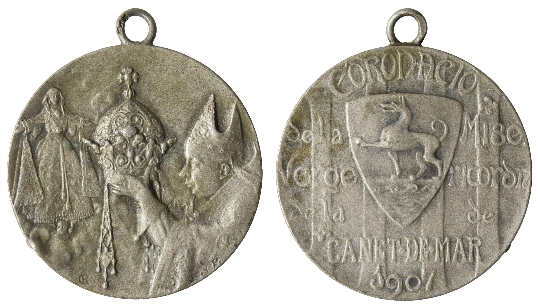 Pablo Gargallo - Coronació de la Mare de Déu de la Misericòrdia de Canet de Mar - 1907