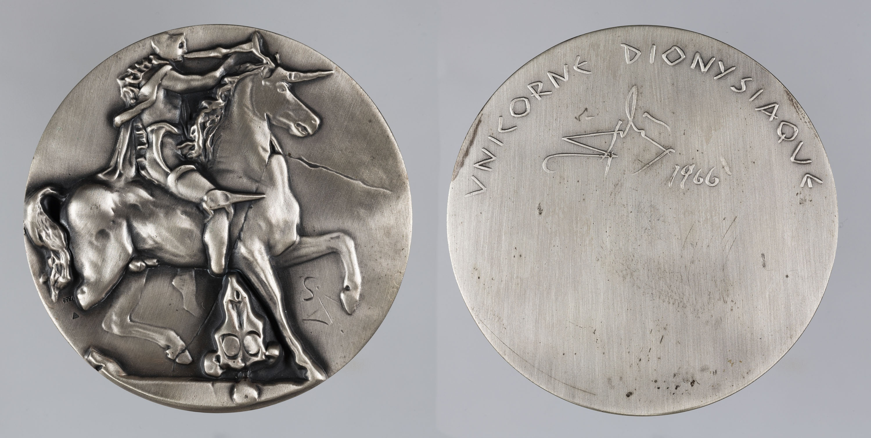 Salvador Dalí - Unicorne Dionysiaque - 1966
