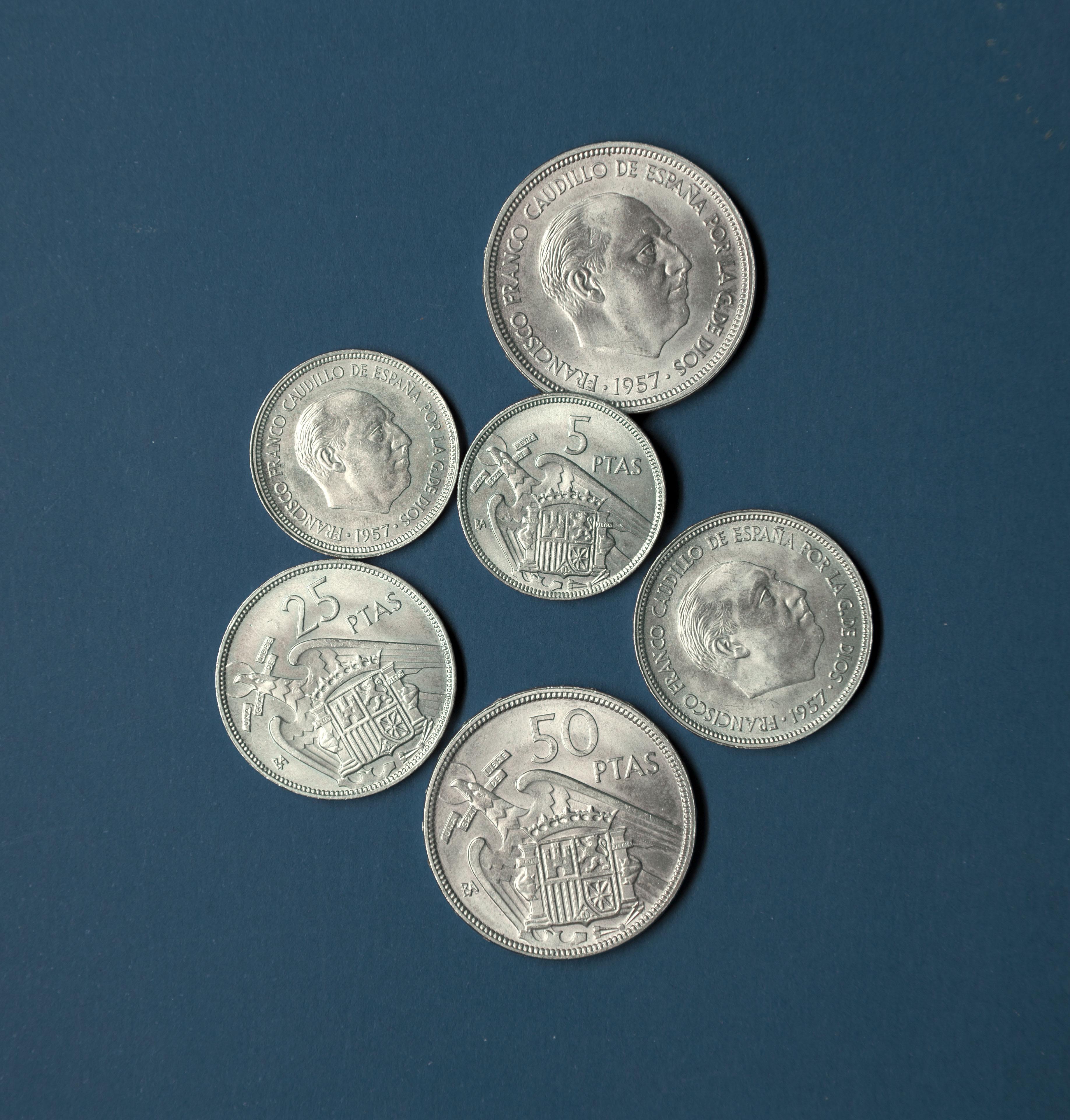 Moneda, numismàrica i franquisme