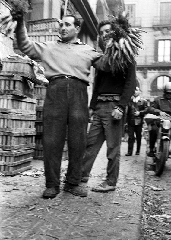 Ignasi Marroyo, El Born, 1963. Ignasi Marroyo/Arxiu Nacional de Catalunya © Ignasi Marroyo