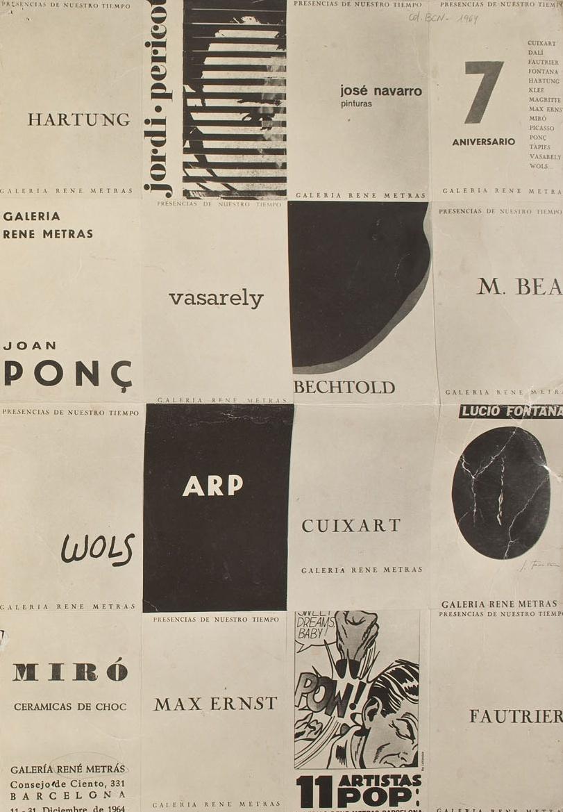 Del segundo origen. Artes en Cataluña 1950-1977