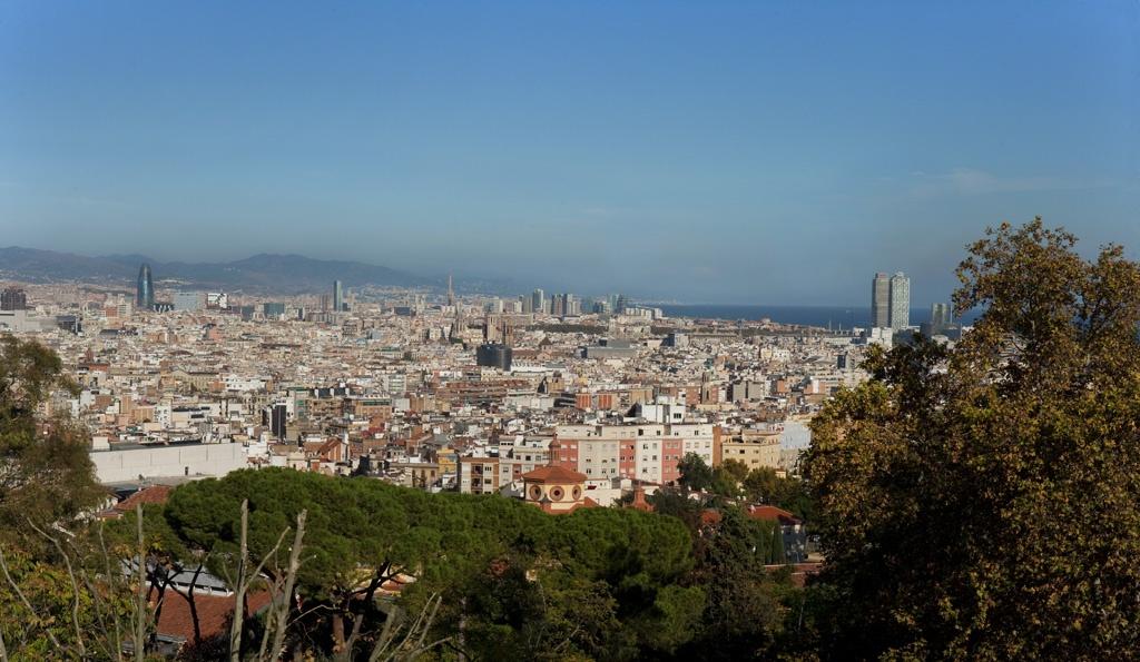 Barcelona a vol d'ocell
