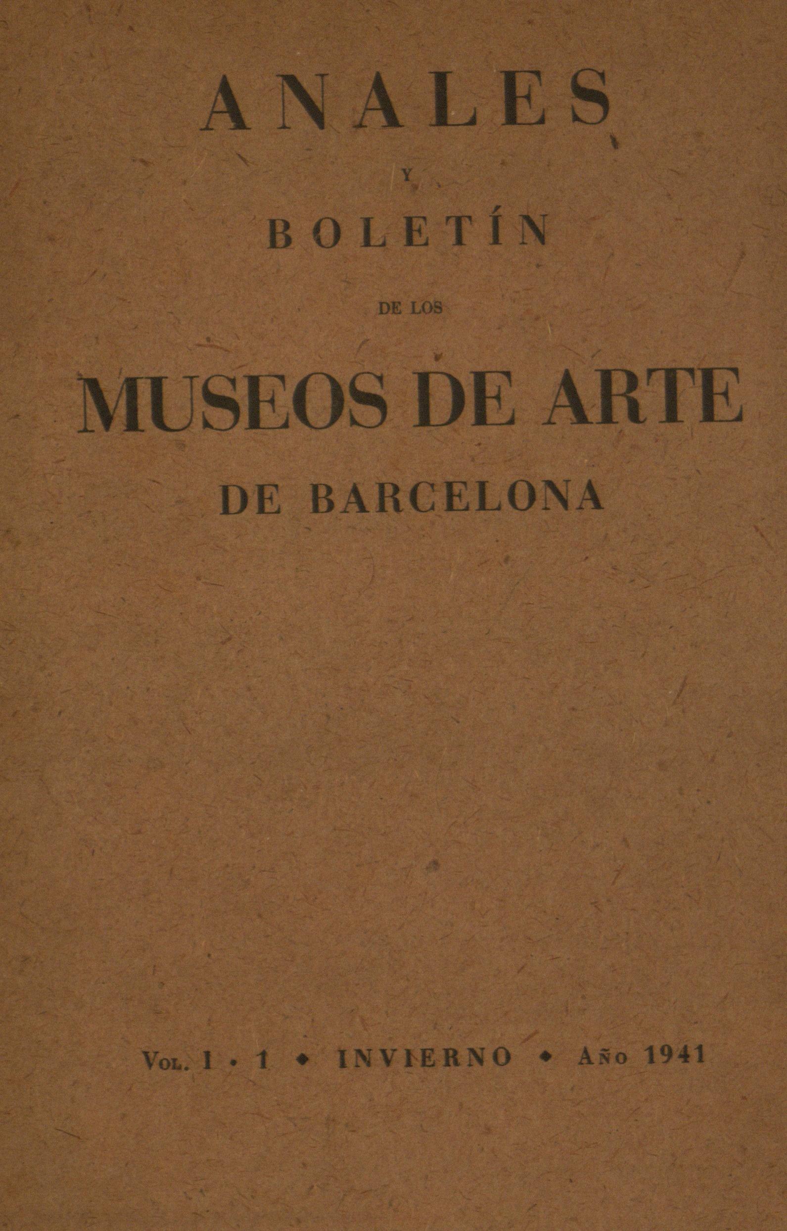 Vol. 1, núm. 1 (1941)