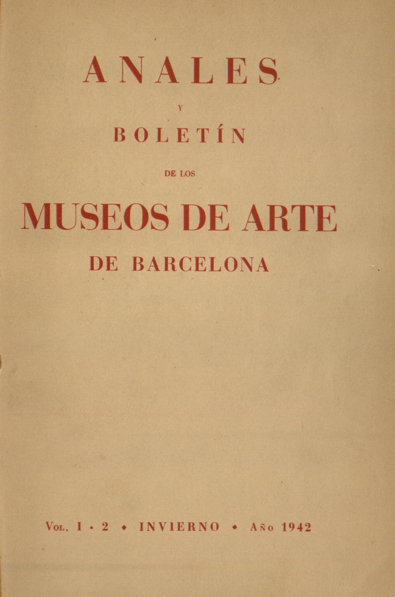 Vol. 1, núm. 2 (1942)