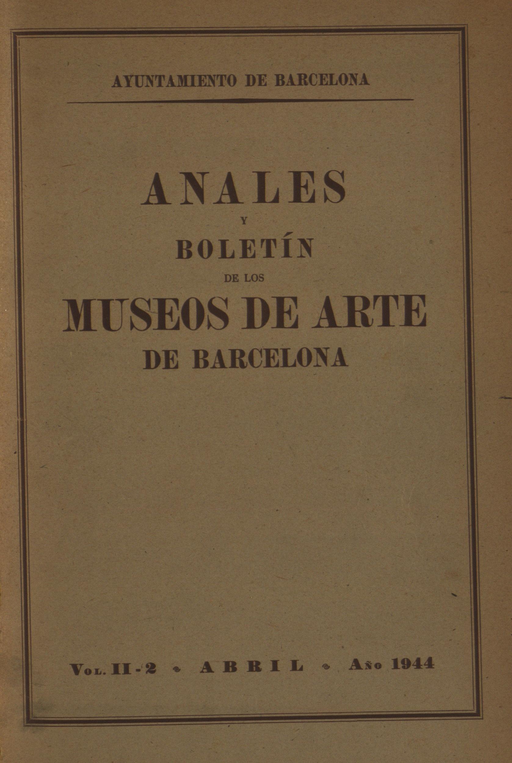 Vol. 2, núm. 2 (1944)