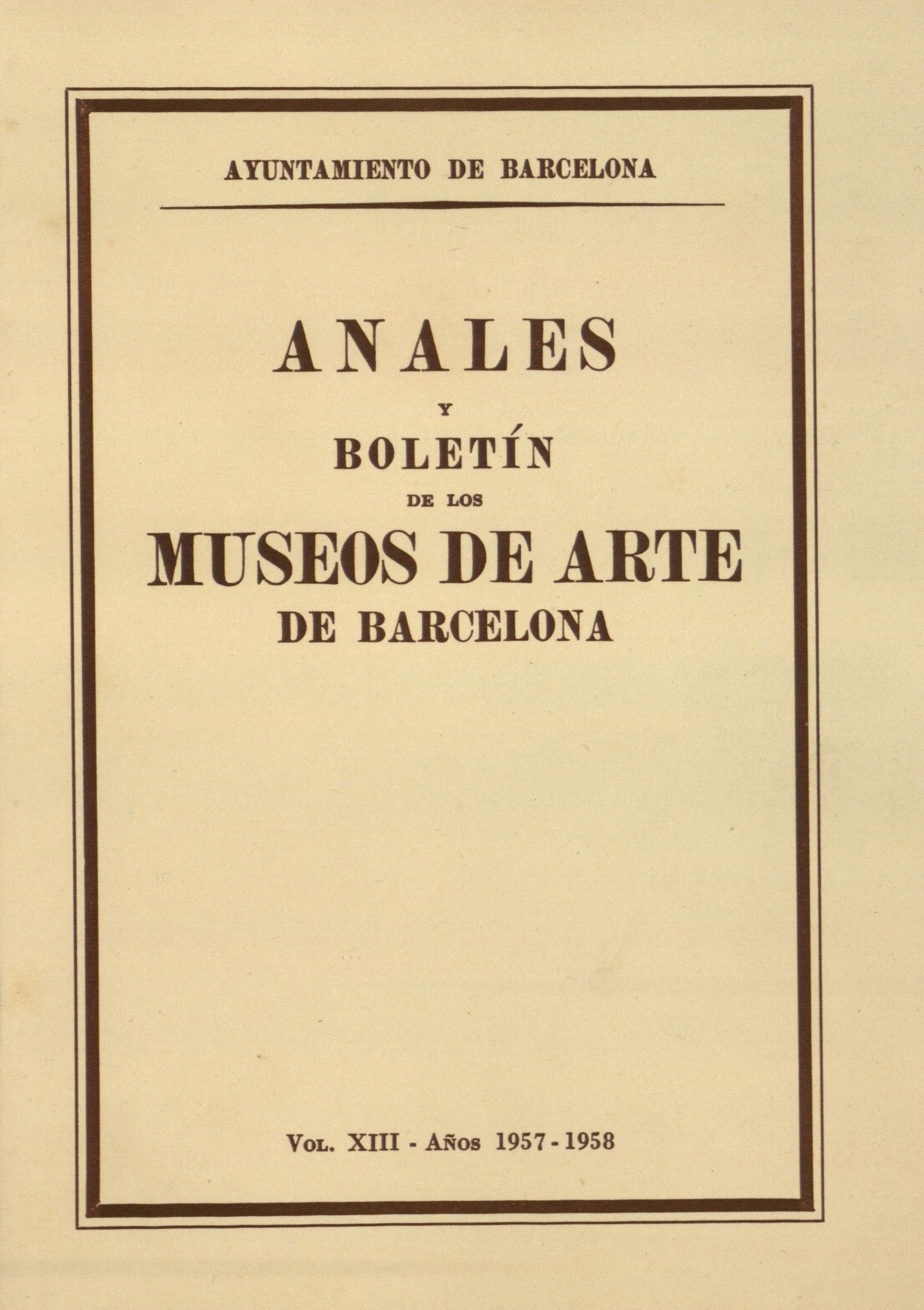 Vol. 13, 1957-1958, p. 1-246