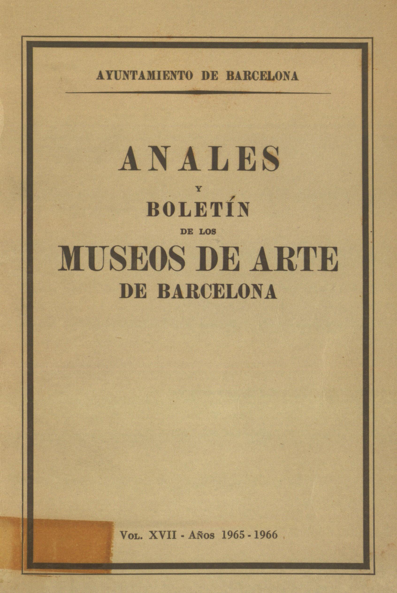 Vol. 17, 1965-1966, p. 80-103