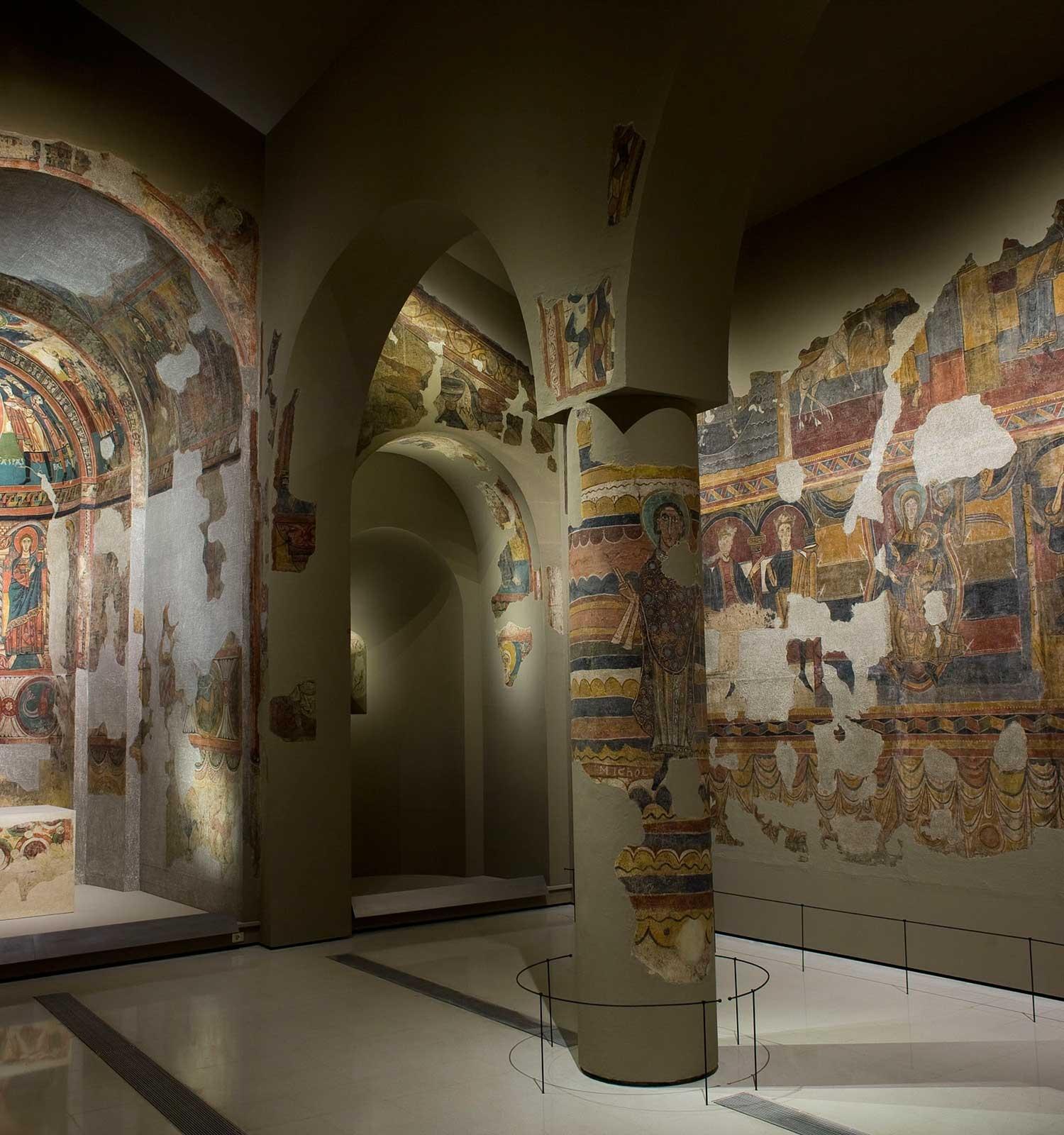 Museu Nacional - Itinerari virtual Romànic