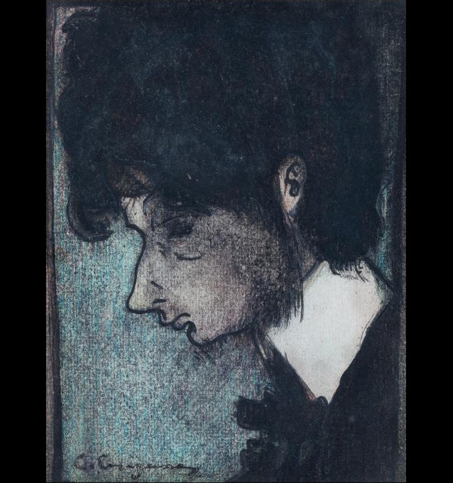 Carles Casagemas, Autoretrat, c.1900. Col·lecció Artur Ramon, Barcelona