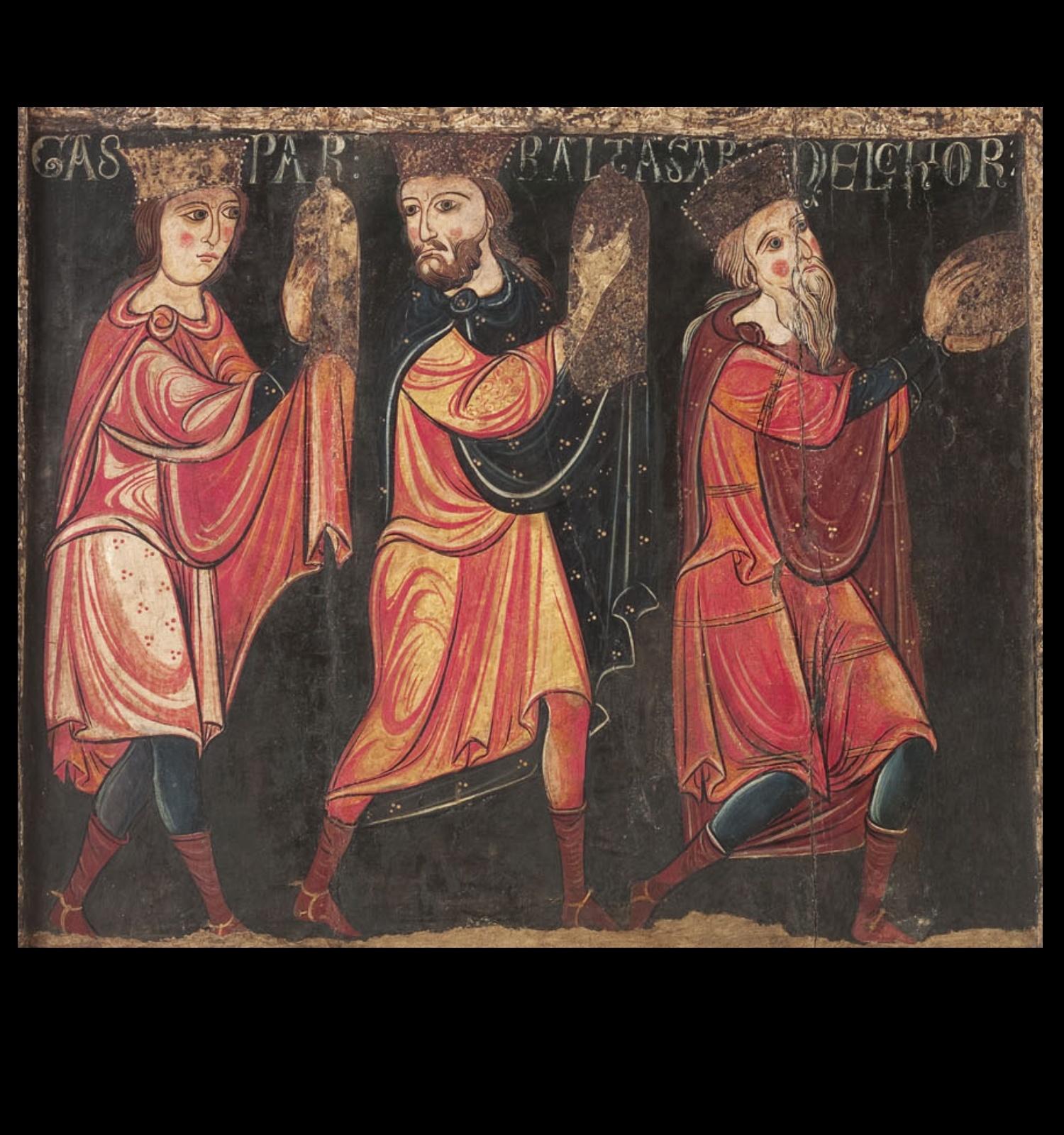 Frontal d'altar d'Avià (detall), Anònim, cap a 1200