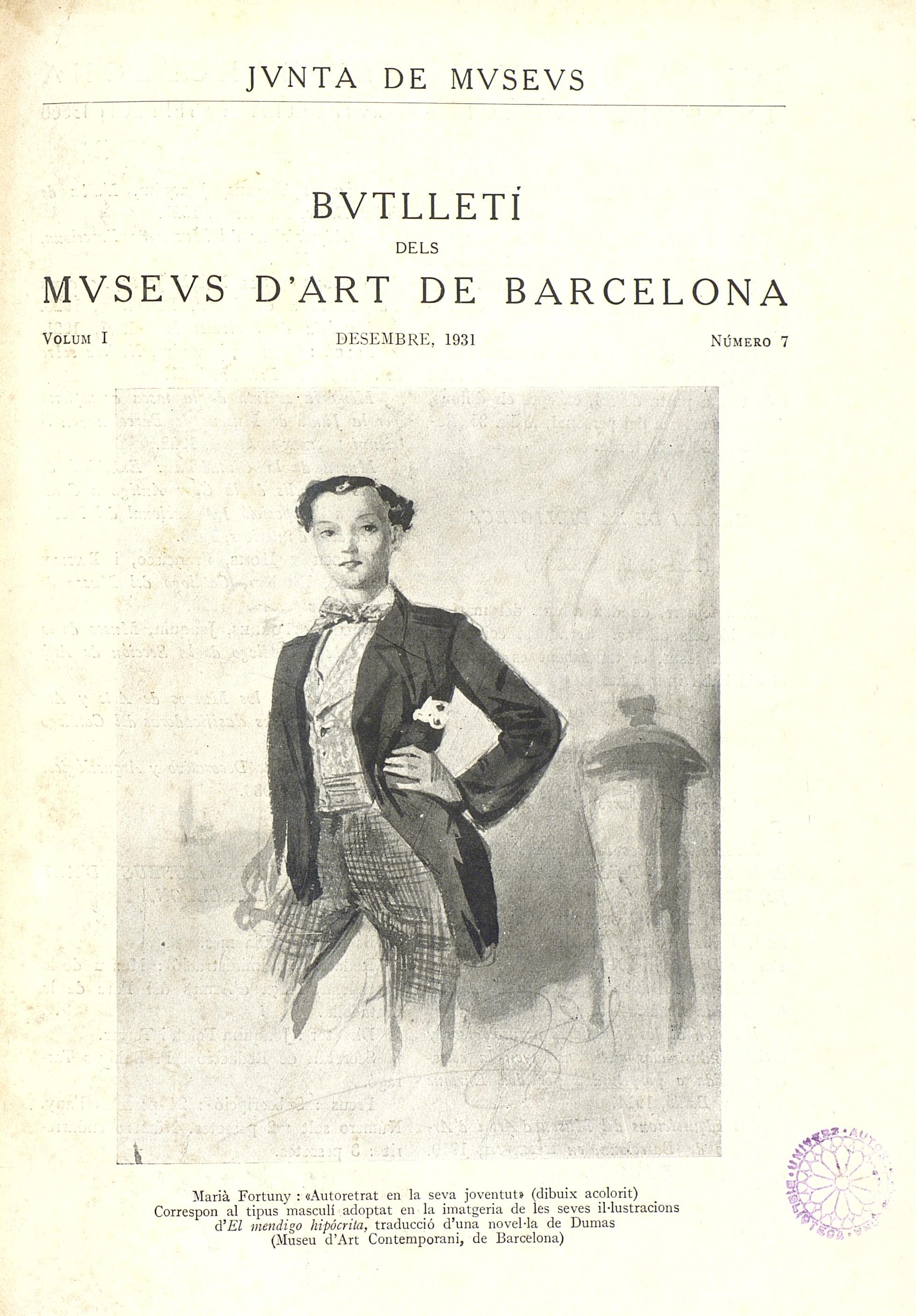 Vol. 1, núm. 7 (desembre 1931)