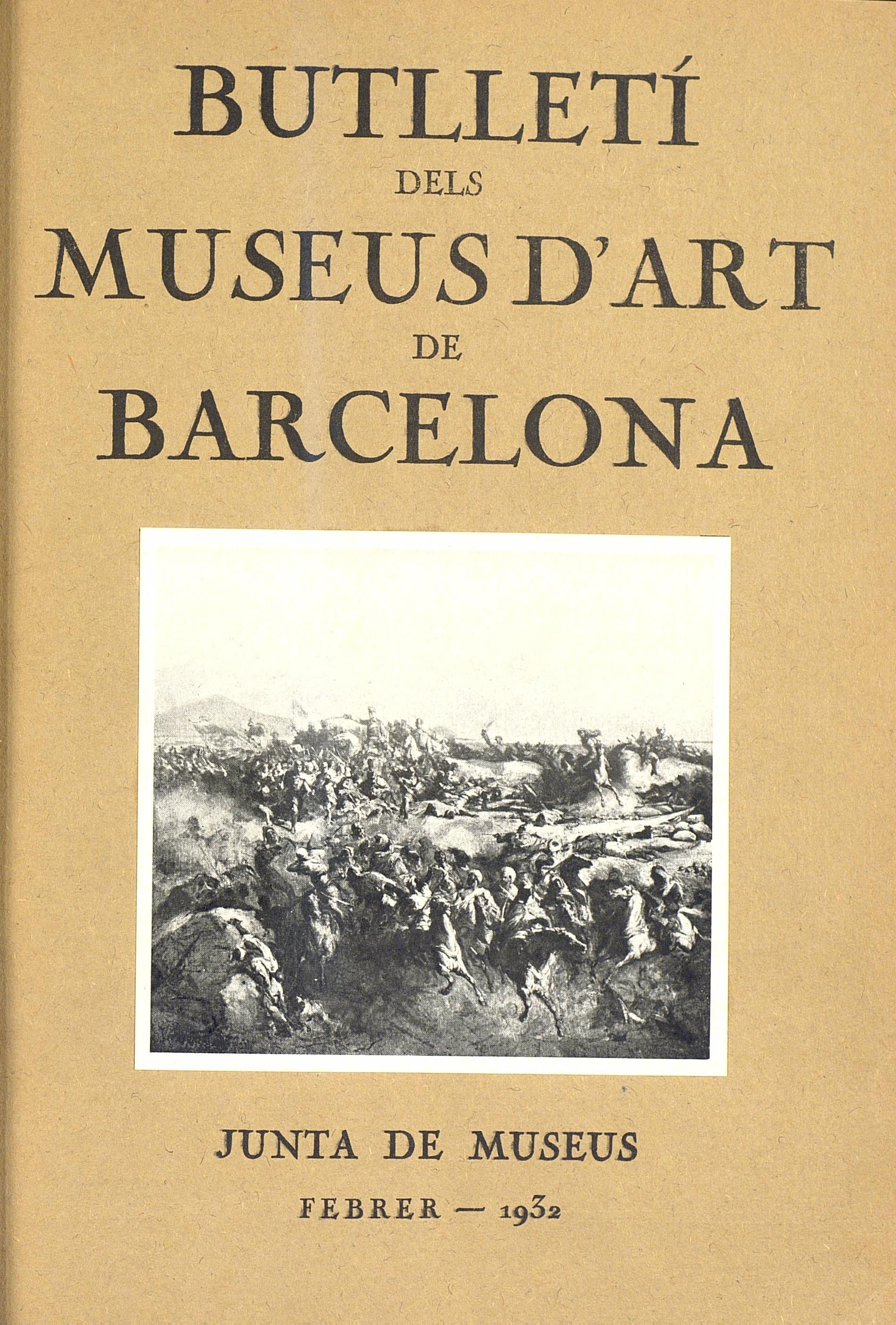 Vol. 2, núm. 9 (febrer 1932)