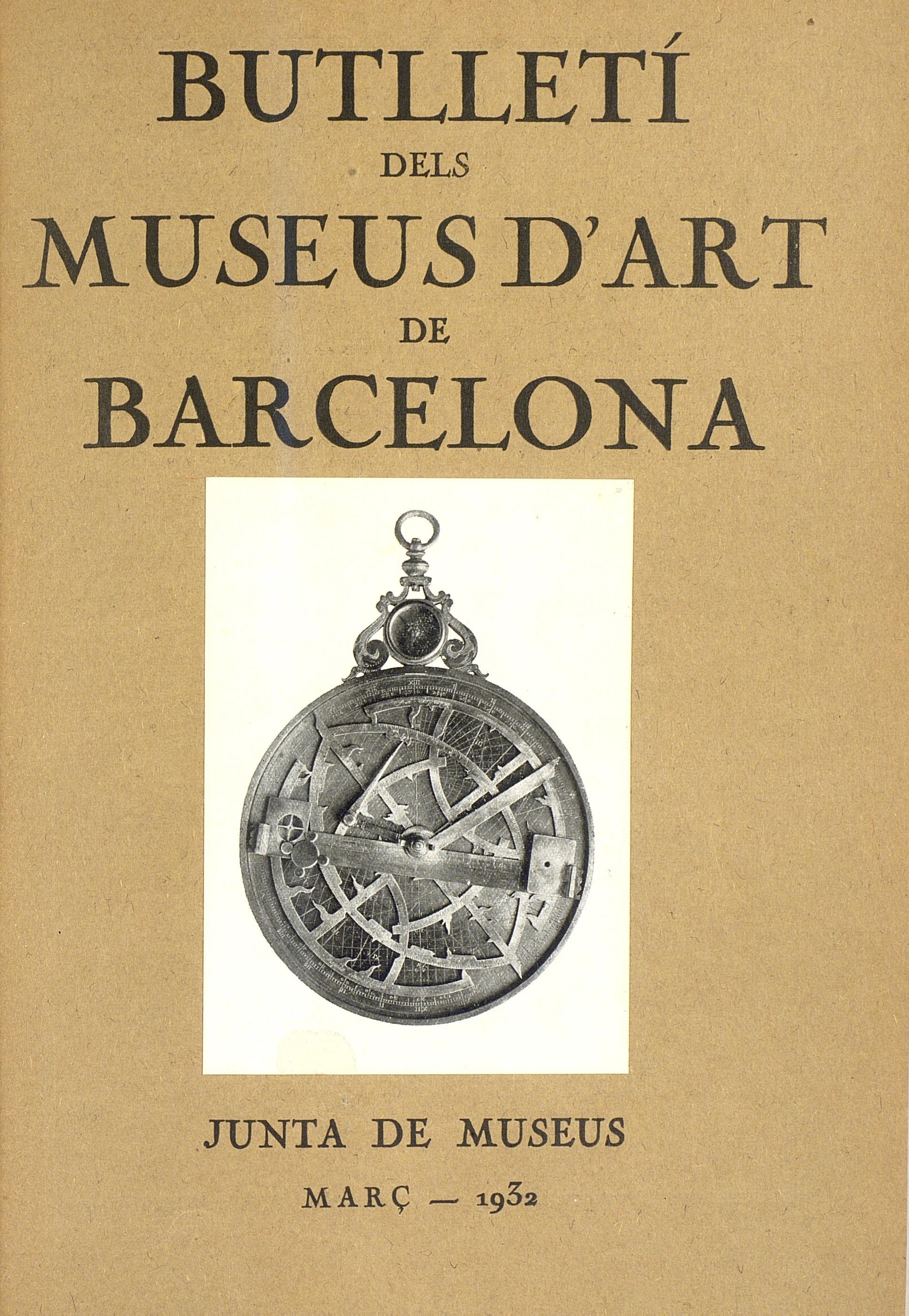 Vol. 2, núm. 10 (març 1932)