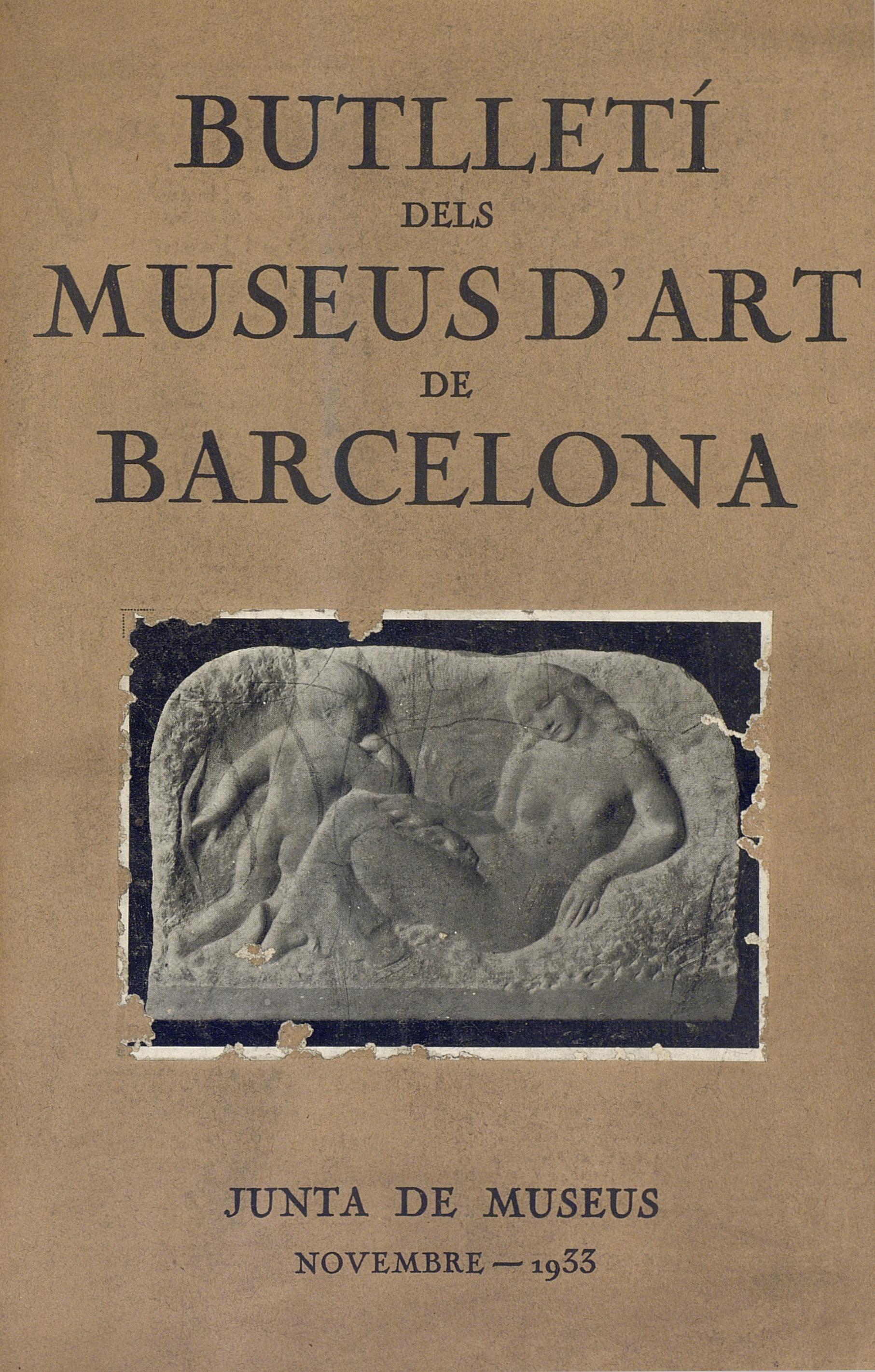 Vol. 3, núm. 30 (novembre 1933)