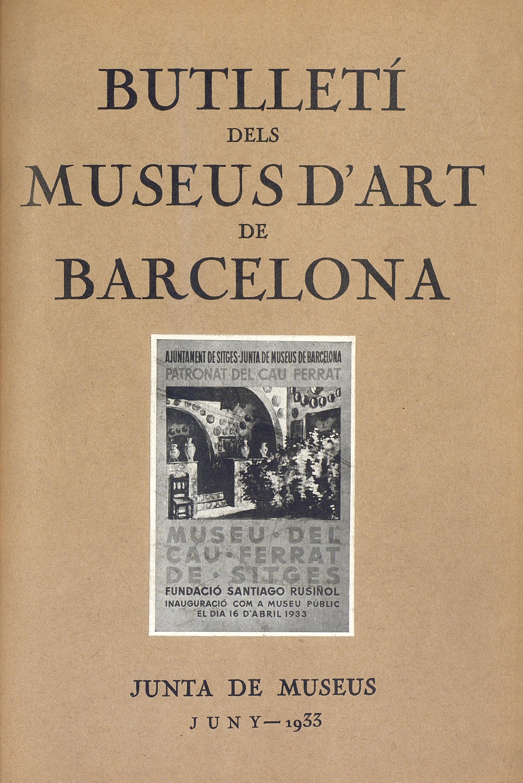 Vol. 3, núm. 25 (juny 1933)