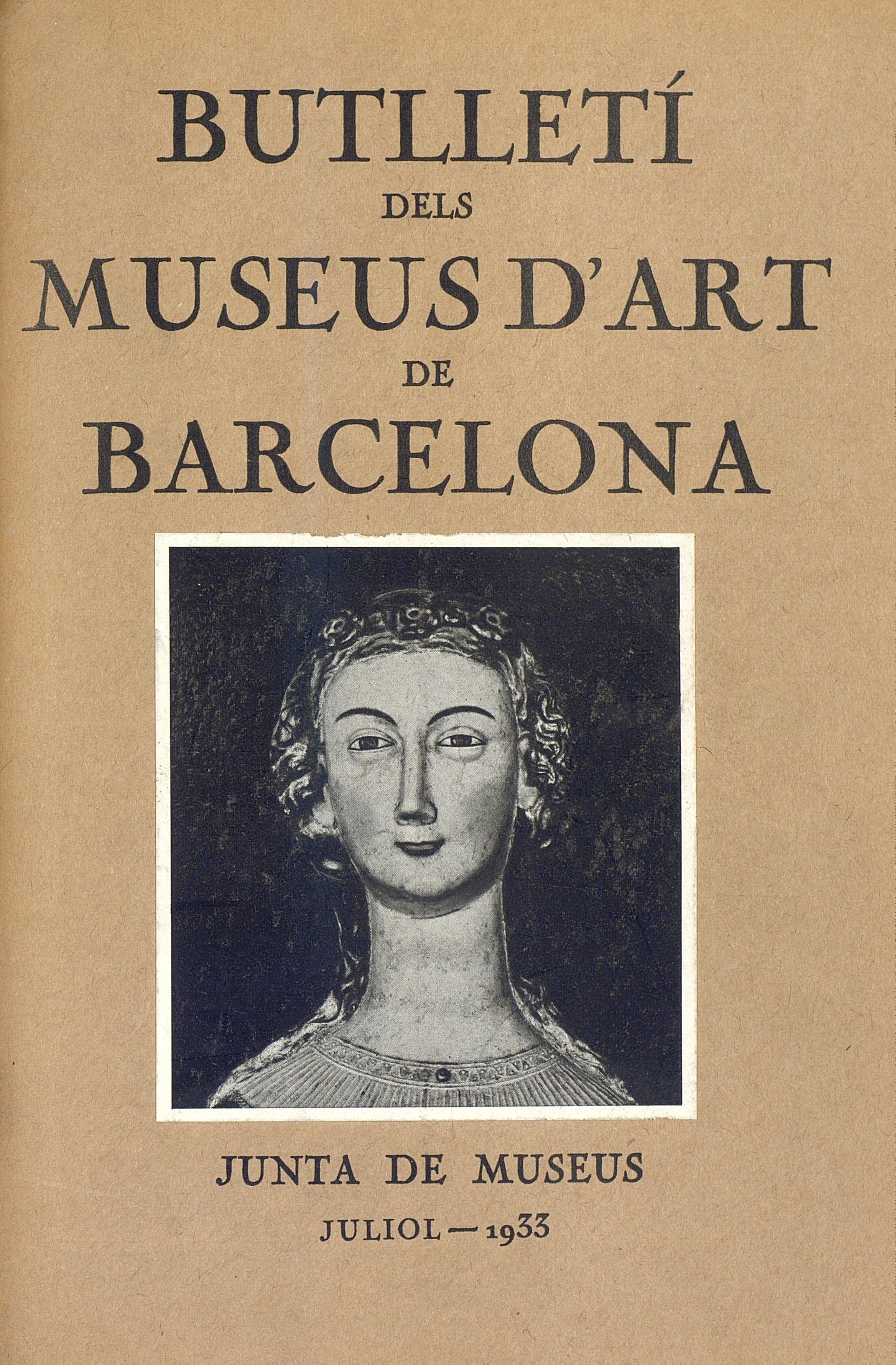 Vol. 3, núm. 26 (juliol 1933)