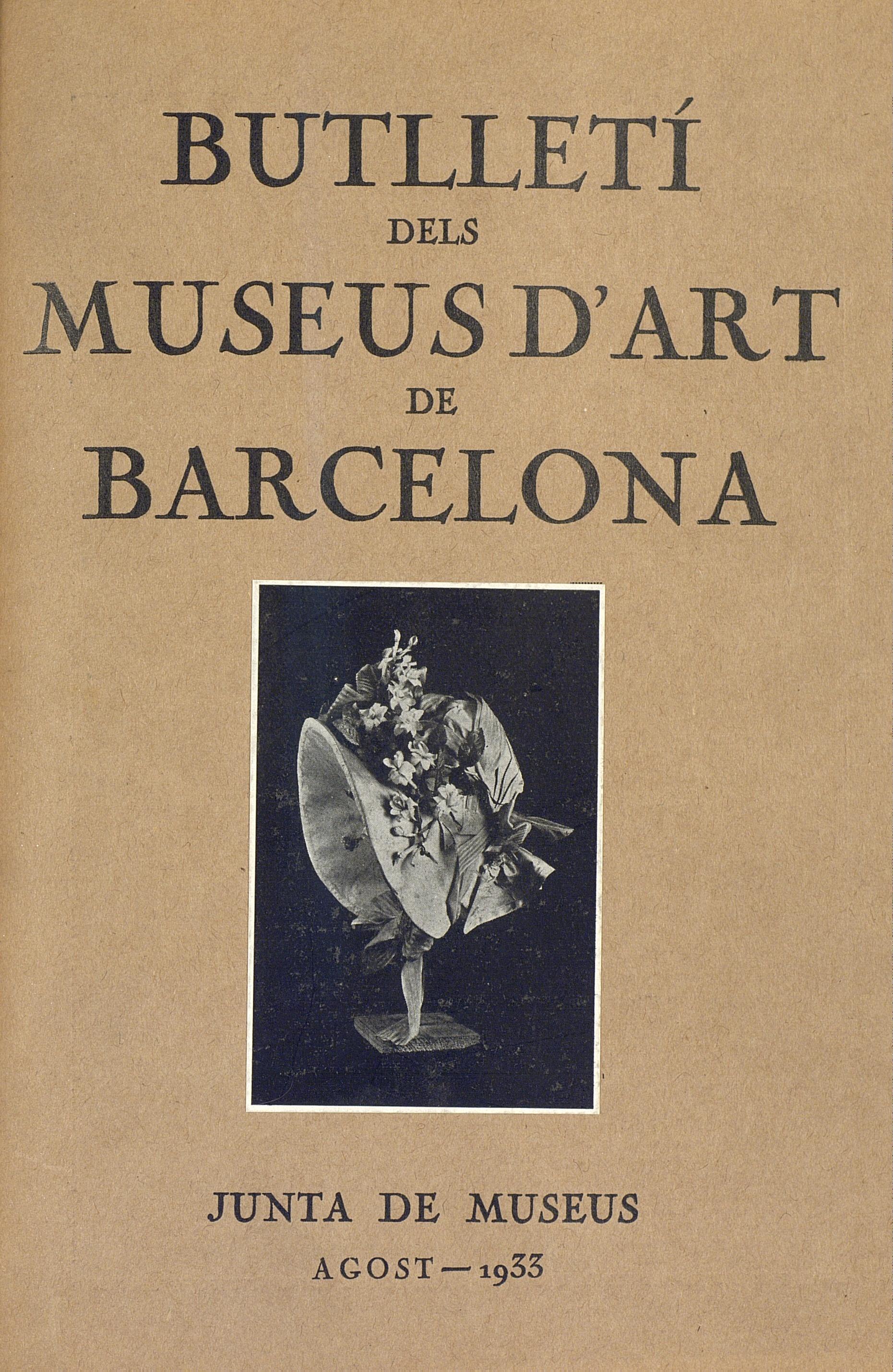 Vol. 3, núm. 27 (agost 1933)