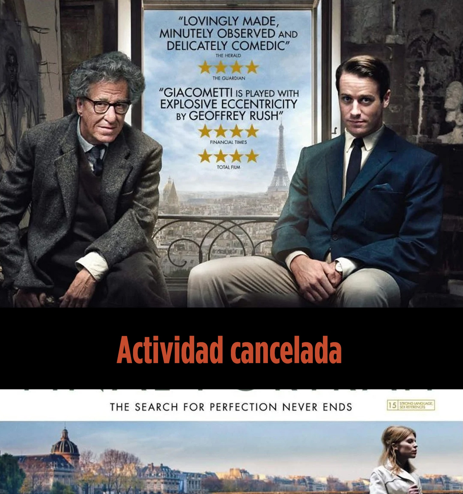 Cartel de la película Final Portrait