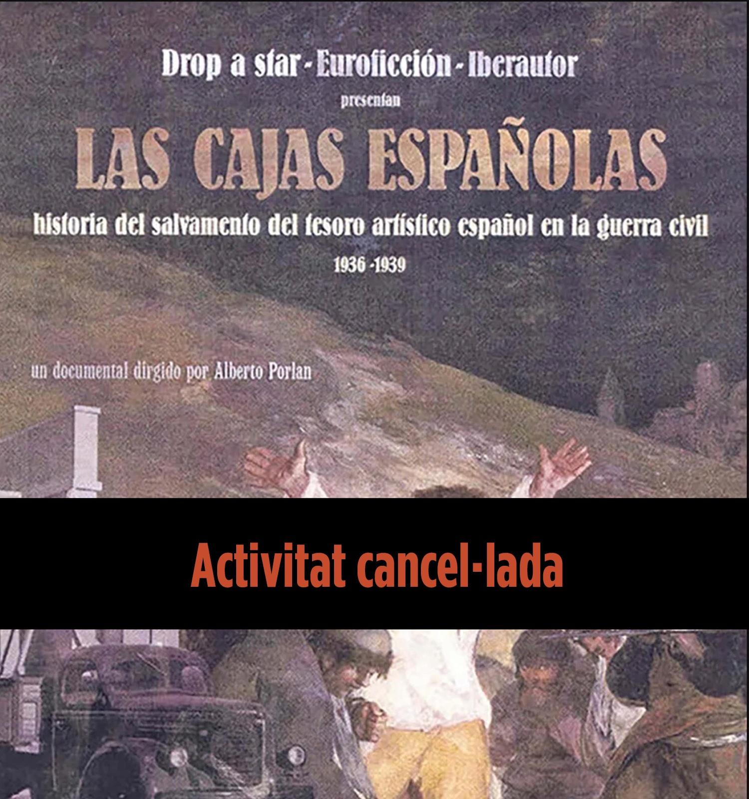 Cartell de la pel·lícula Las cajas españolas