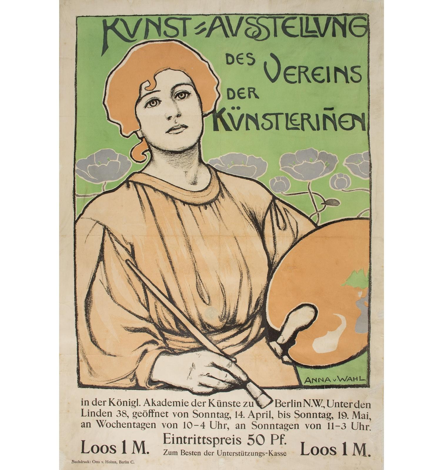 Kunst=Ausstellung des Vereins der Künstleriñen