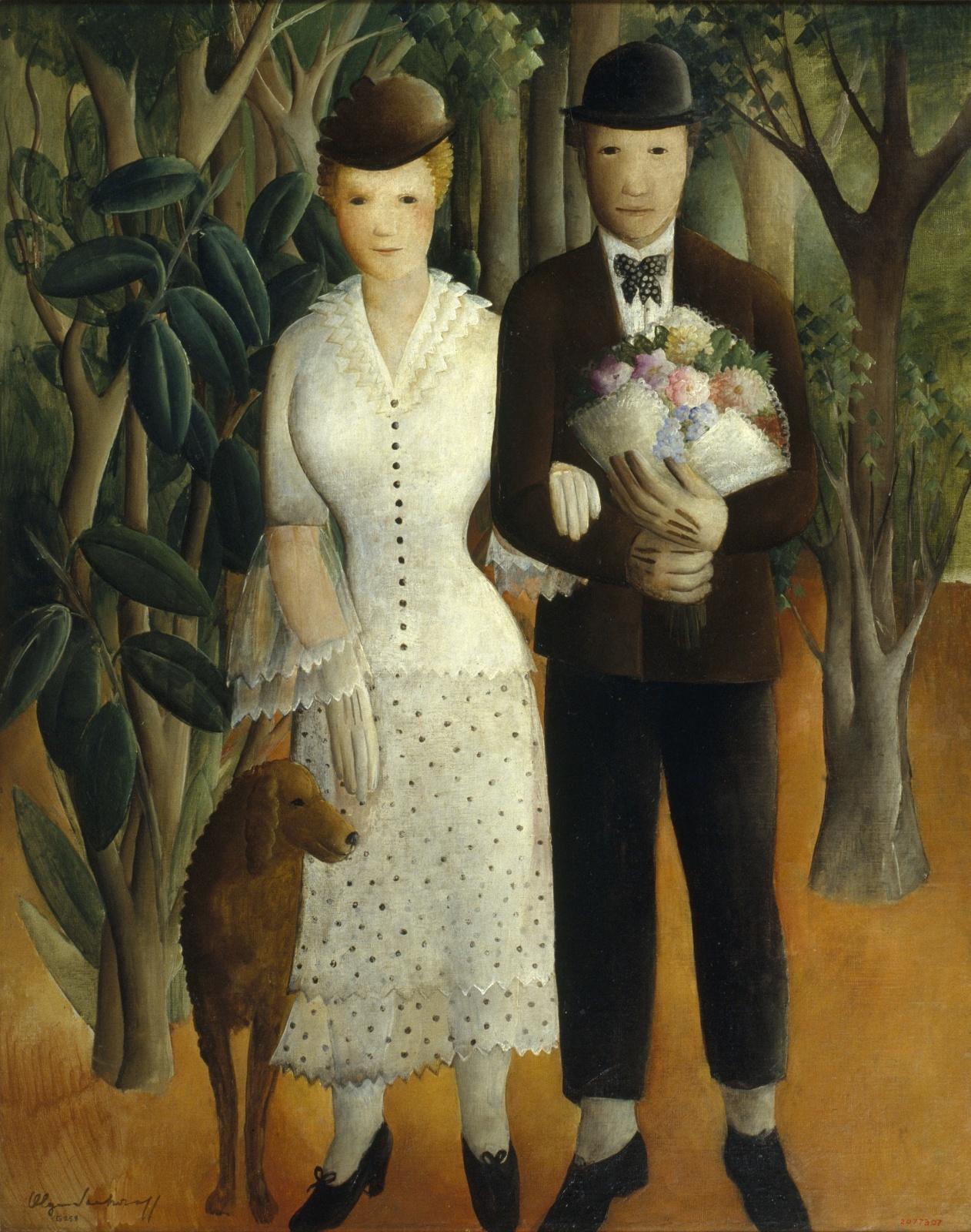 Els noucasats, Olga Sacharoff, cap a 1929