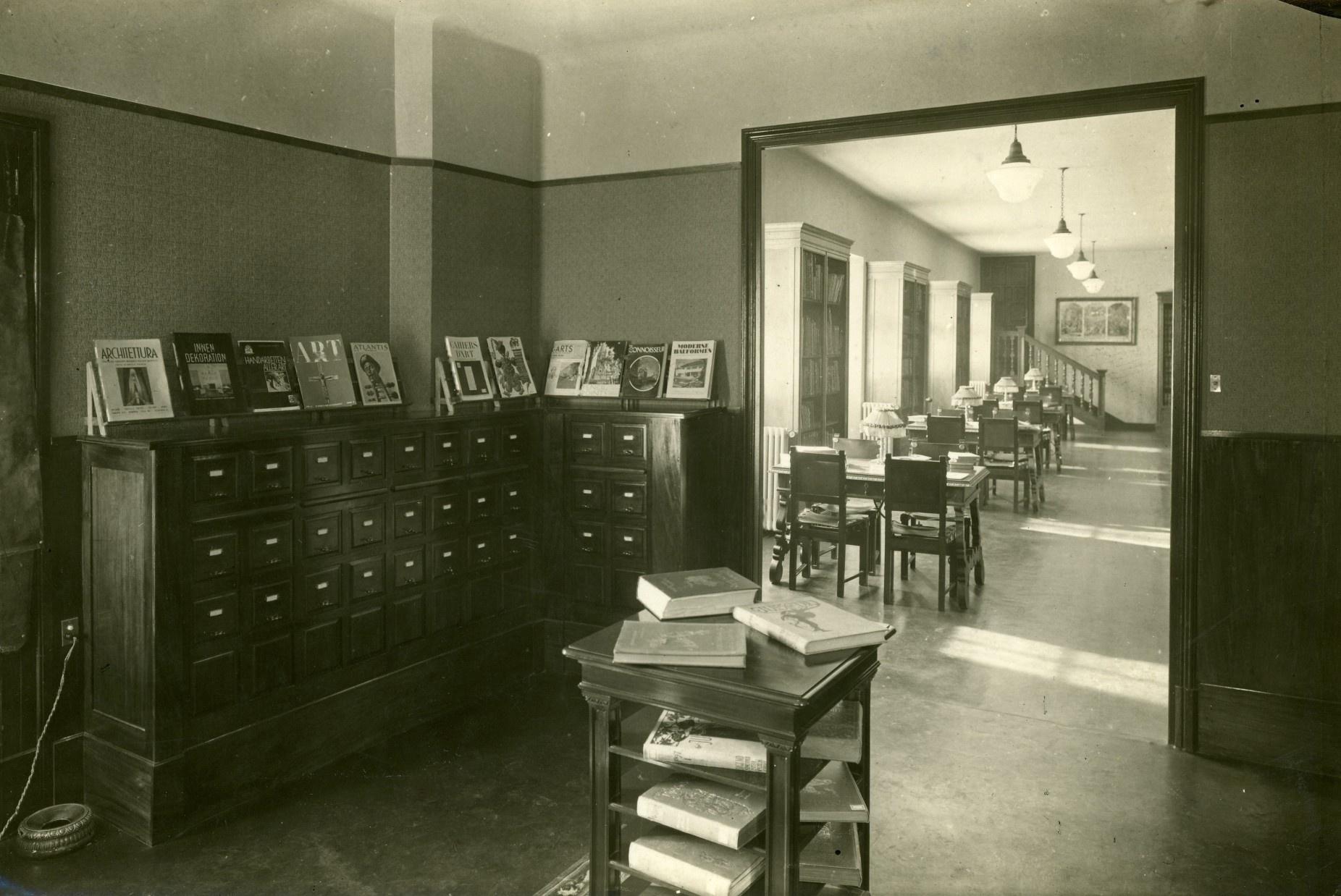 Sala de fitxers i sala de lectura