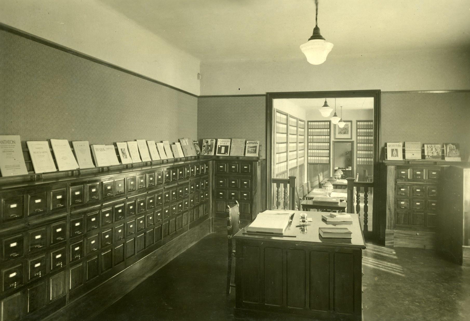 Sala de fitxers i sala del repertori fotogràfic