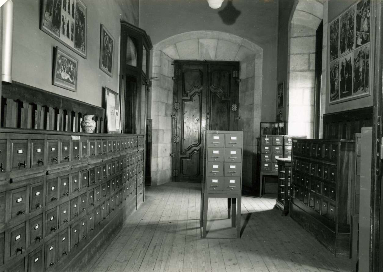 La Biblioteca a l'antic Arsenal, seu del Museu d'Art Modern, a la Ciutadella