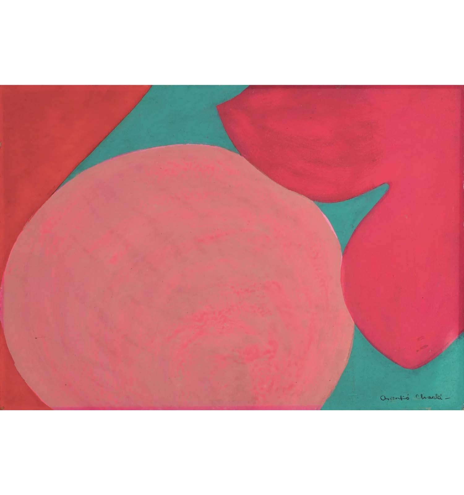 'Autoretrat embarassada', Mari Chordà, 1966-1967. Col·lecció Mari Chordà