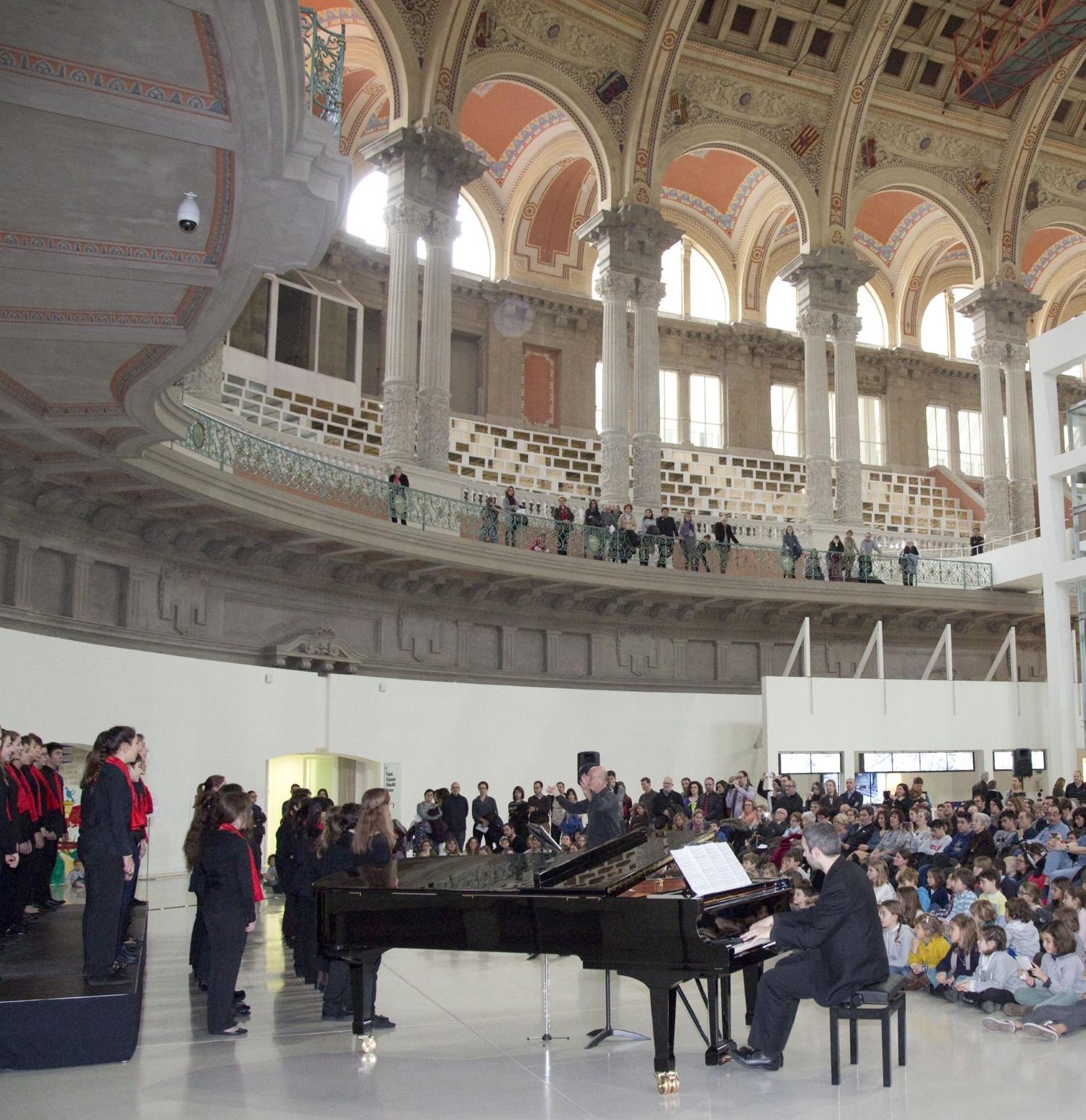 Concert de Nadal de l'Orfeó Català (any 2016)