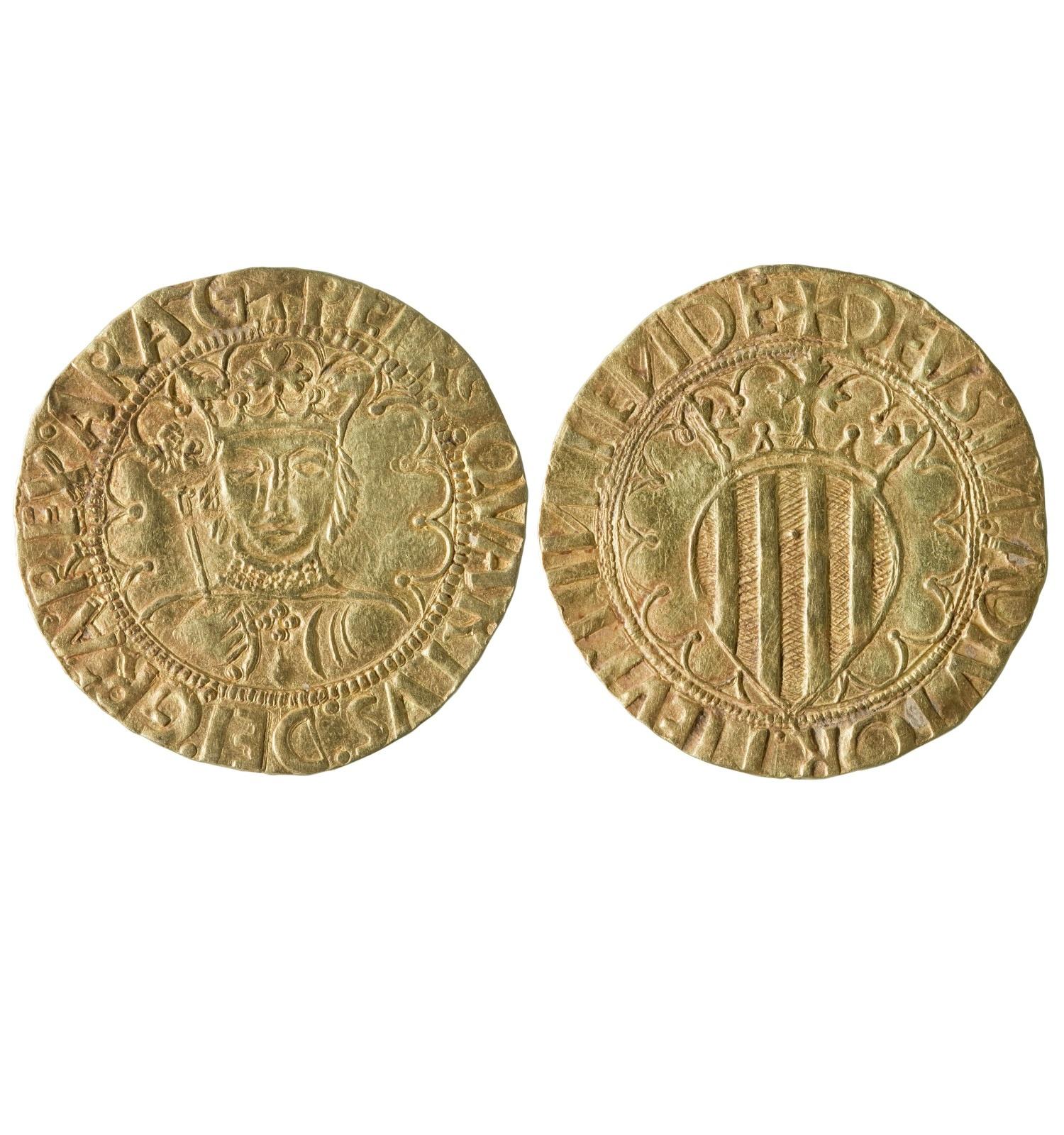 Pere IV, Conestable de Portugal, pacífic de Barcelona, 1465-1466 MNAC/GNC 312787-N