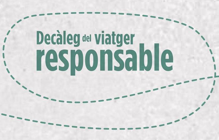 Decàleg del viatger responsable | Professionals del turisme