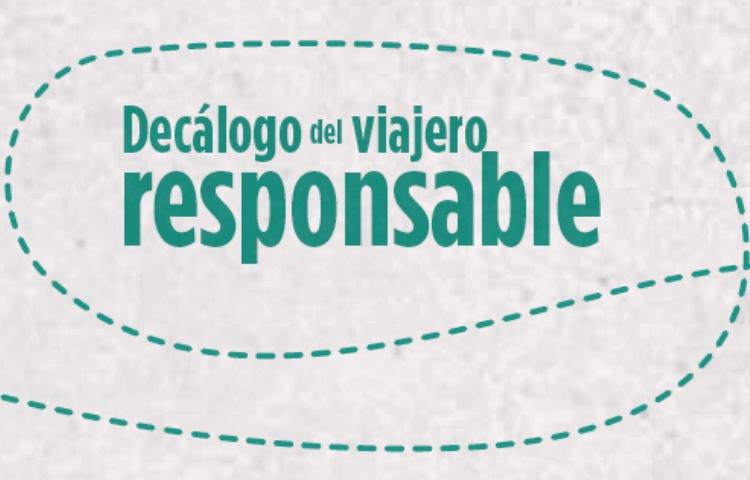 Decálogo del viajero responsable | Profesionales del turismo