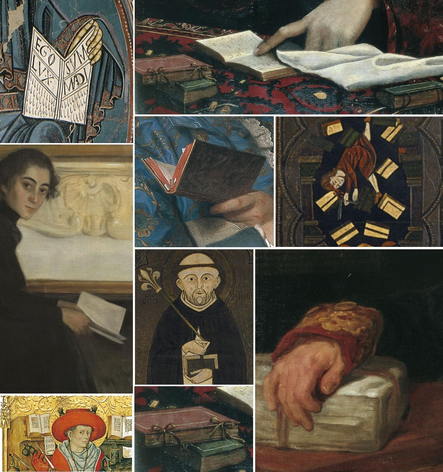 El libro y la lectura en las colecciones del museo - itinerario virtual