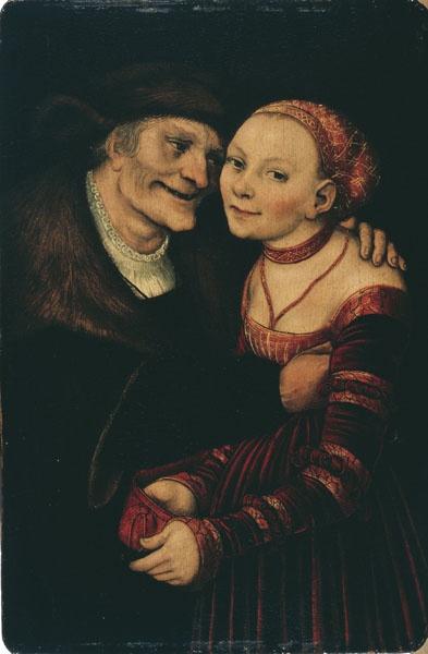 Pareja amorosa desigual  1517