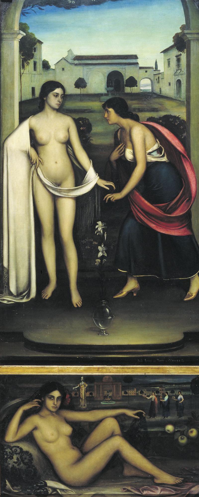 Museu Nacional d'Art de Catalunya | El retaule de l'amor
