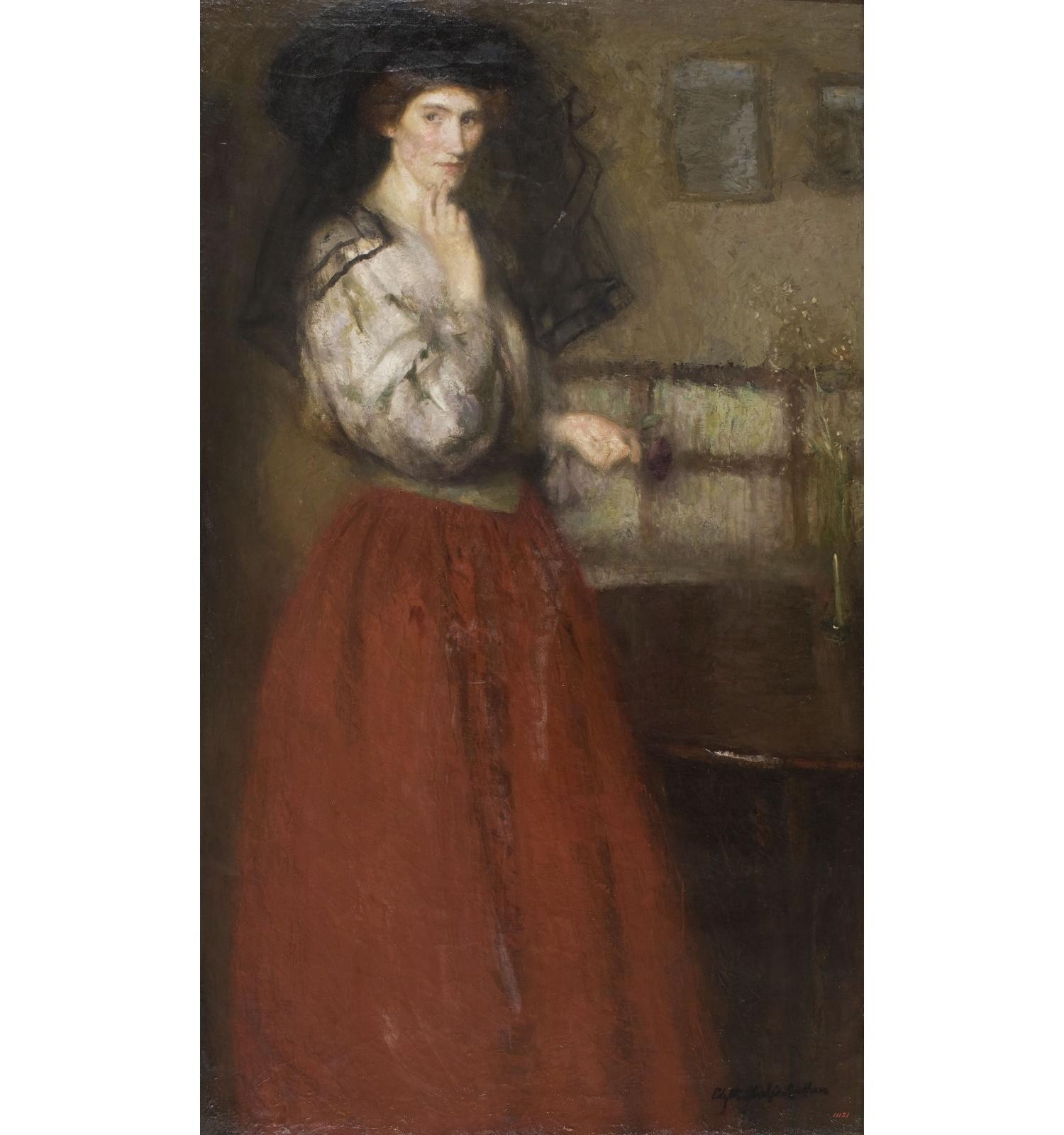 El vel negre, Edyth Starkie, cap a 1911