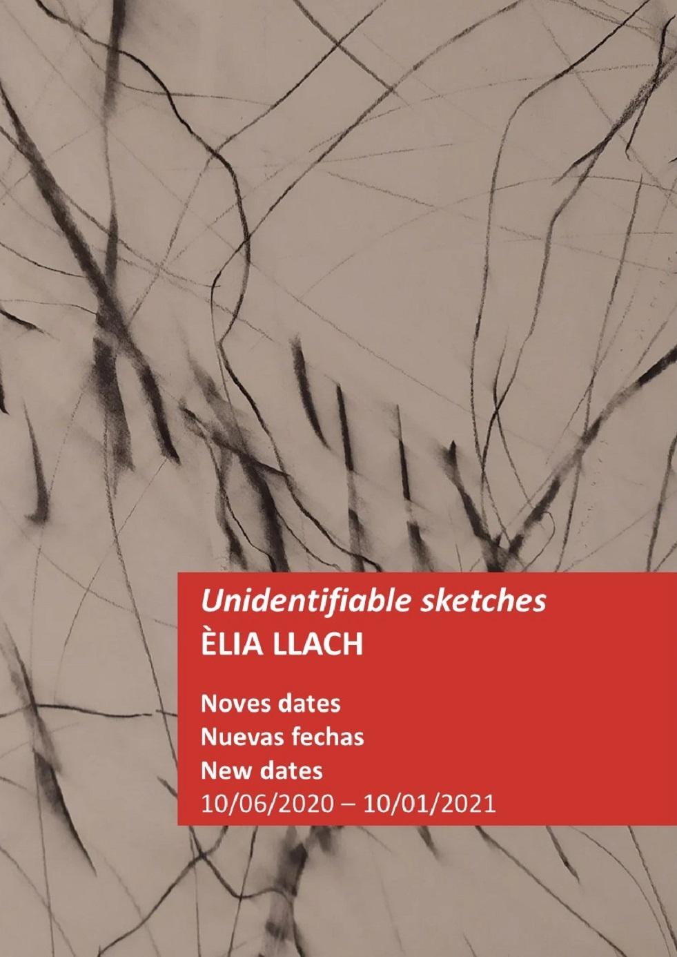 Unidentifiable sketches. Èlia Llach
