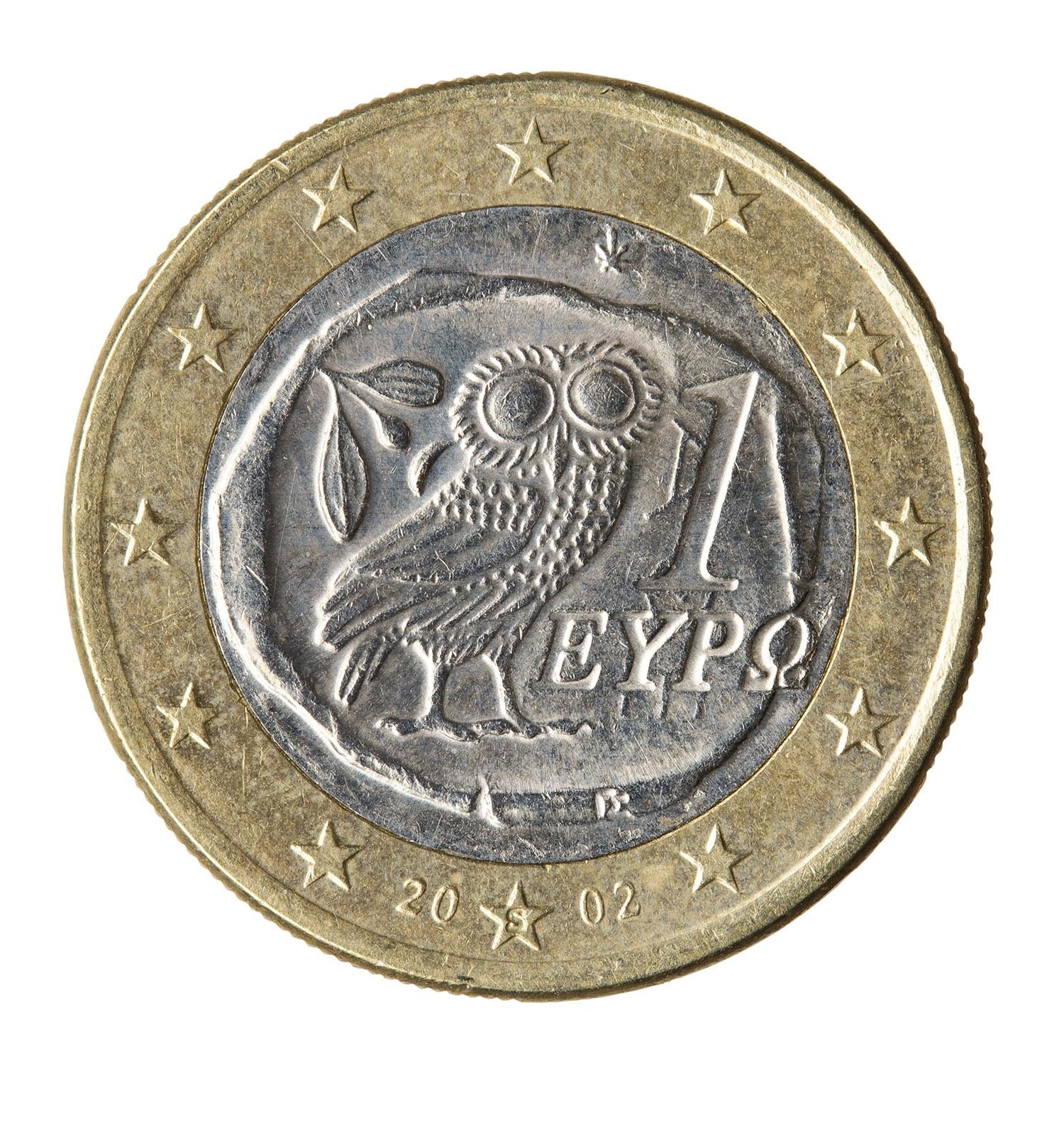 Unió Europea/República Hel·lènica, 1 euro, 2002. MNAC/GNC 306661