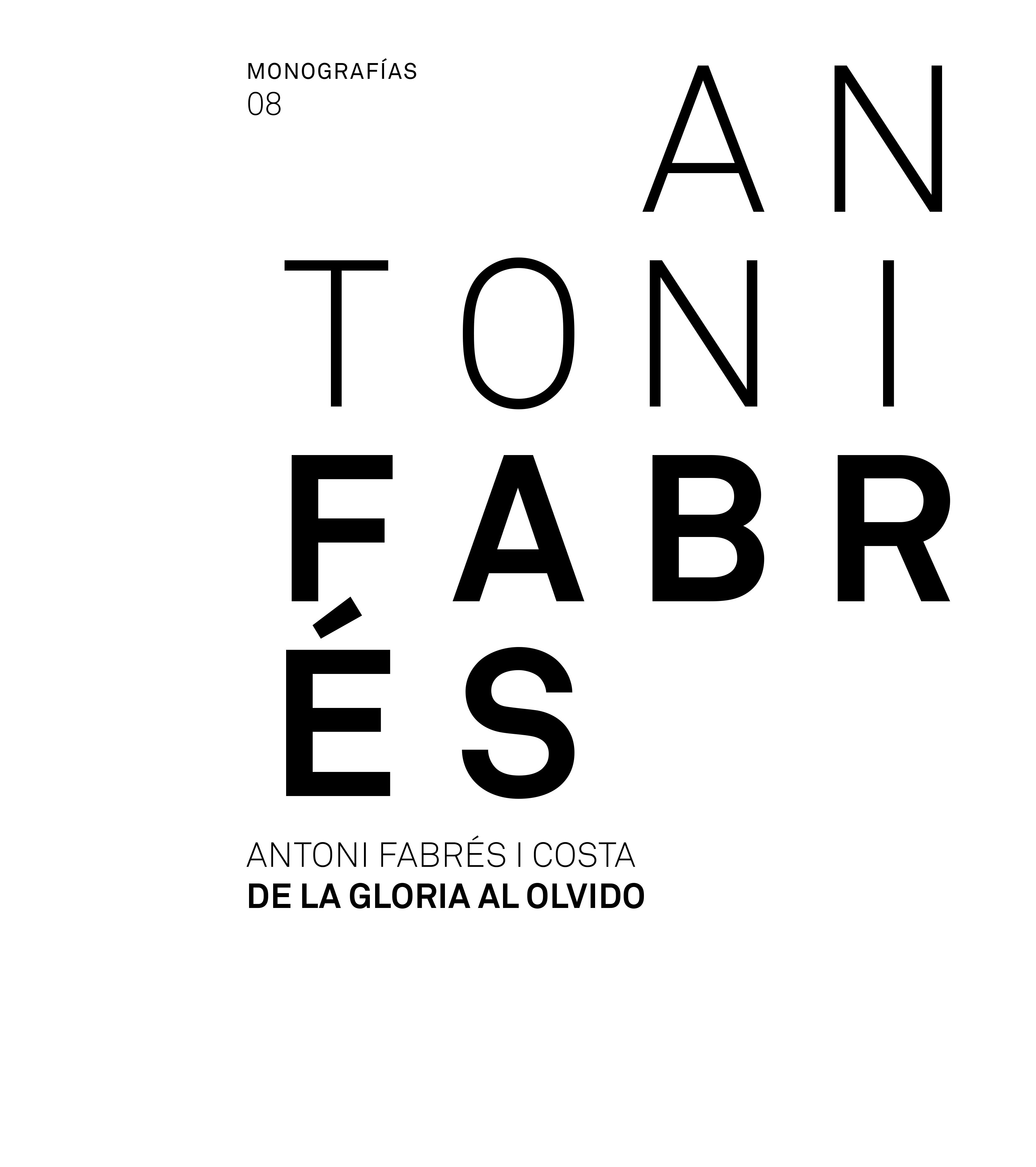 Antoni Fabrés. De la gloria al olvido - catálogo